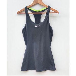 Nike Pro Dry Fit Tank Top Black Laser cut Small